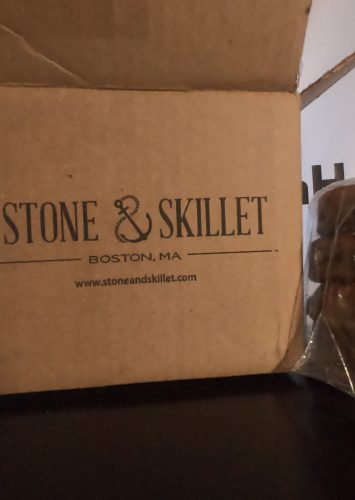 Stone and Skillet lemon blueberry english muffins boston local business massachusetts