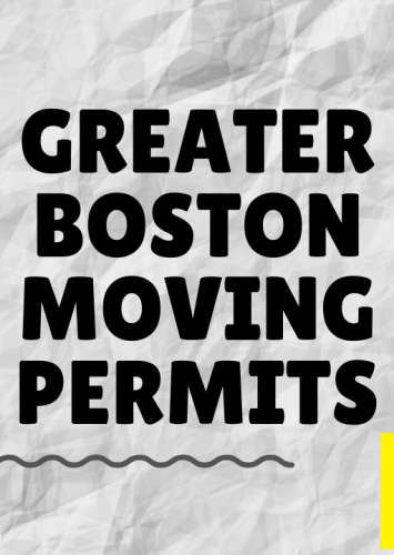 Greater Boston Moving Permits for moving truck rental Cargo Vans