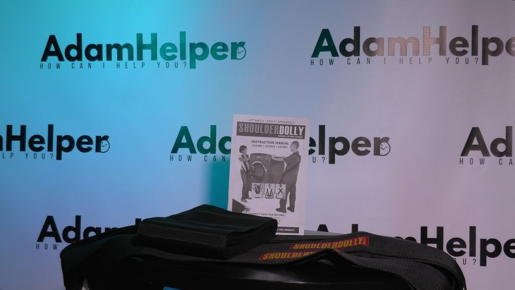 Shoulder dolly Moving Straps on amazon AdamHelper unboxing video reviews
