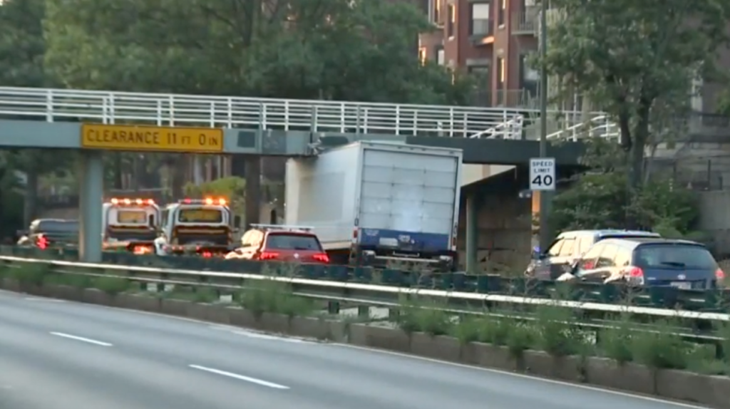 TRUCK HEIGHT LIMIT ON STORROW DRIVE Boston moving companies